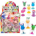 New Monster Kids Party Kids Goody Bag Birthday Loot Stocking Fillers pack (6/12)