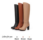 botas country mujer - Fashion Women Boots Knee-High Mujer Botas High Heels Shoes Knight Boots 3 Colors