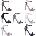 Womens Ladies Garage Shoes Barely There High Heel Stilleto Sandal fashion Shoes