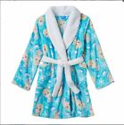 Girls Disney Princess Frozen Elsa Holiday Fluffy Bath Robe