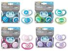 Tommee Tippee CTN C-Air Style Baby's Orthodontic Soothers - 3-9m - 4 Colours