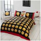Icons Emoji Reversible Duvet Cover Set - Kids Bedding Bed Single Double - GIFTS