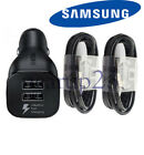 Original Samsung Galaxy S9 S8plus Note 8 Adaptive Fast OEM + Car Charger+Type -C