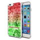 Personalised Premium Hard Case Cover for Mobiles - Red Green Pattern 106