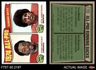 1975 Topps #210 Terry Metcalf / Otis Armstrong - All-Pro  Cardinals / Broncos NM