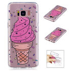 Rubber Silicone Clear Soft TPU Cute Cover Case For Samsung Galaxy Phone/S9/Note8
