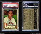 1952 Topps #78 Ellis Kinder Red Sox PSA 5 - EX