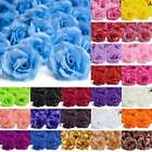 20pcs Artificial Big Rose Flower Heads Wedding Party Confetti Table Decor 70mm
