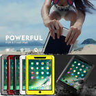 Extreme Waterproof Shockproof Heavy Duty Hard Case Cover For Apple iPad Tablet