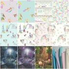 bookshelf wallpaper - ARTHOUSE GIRLS IMAGINE FUN & GLITTER WALLPAPER - MERMAID, UNICORN & MORE