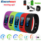 Excelvan Smart Bracelet Wristband Bluetooth Pedometer Calorie For Android IOS US