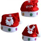 Cute Santa Claus Snowman Elk Christmas Children Baby Hat Christmas Ornament