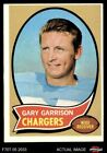 1970 Topps #23 Gary Garrison Chargers EX $0.99 USD