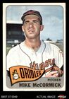 #343 Mike McCormick Orioles VG EX