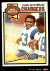 1979 Topps #217 John Jefferson Chargers EX/MT $5.25 USD