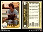 1981 Fleer #514 Bill Travers COR Brewers 6 - EX/MTBaseball Cards - 213