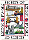 London Souvenirs Tea Towels UK GB British Cotton Tea Towel Souvenir Gift Kitchen