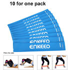 10/6pcs Resistance Loop Bands Exercise Yoga Bands Home GMY Workout Fitness +Bag