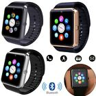 Bluetooth Wrist Smart Watch Sport Mate For Android Samsung S8 S7 S6 Note 5 IOS