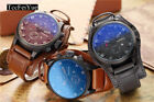 Jewelry Watches - Fashion Curren Men Date Stainless Steel Leather Analog Quartz Sport Wrist Watch