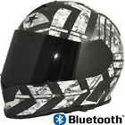 TORC  T14 Mako with Bluetooth Motorcycle Helmet Full Face Dual Visor Force