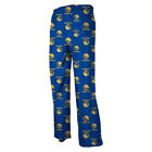 Golden State Warriors Youth Logo Print Lounge Pants - Blue