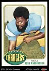 1976 Topps #38 Russ Washington Chargers VG $1.55 USD