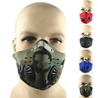 Anti Dust Motorcycle Bicycle Cycling Ski Half Face Mask Filter iy