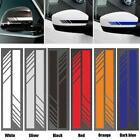 2pcs DIY Auto Car Body Sticker Side Decal Stripe Decals SUV Vinyl Graphic ED