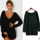 Womens Wool V-Neck Pullover Sweater