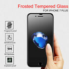 Anti Glare Matte Screen Protector Tempered Glass Film For iPhone X 6S 7 8 Plus