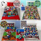 OFFICIAL NINTENDO SUPER MARIO BROTHERS BEDDING DUVET COVER SETS BOYS BEDROOM