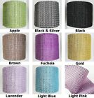 "Внешний вид - Diamond Rhinestone Mesh Wrap 4.75"" X 10 Yard for Wedding Party and Event 24 Rows"
