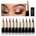 Metallic Smokey Waterproof Shimmer Long Lasting Makeup Eyeshadow Stick New ED
