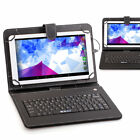 """iRULU X1Plus 10.1"""" Google Android5.1 Quad Core BT 1G/8GB Tablet PC with Keyboard"""