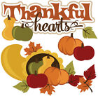 Thanksgiving SET of Scrapbook Embellishment Die Cuts Paper Piecing Cards