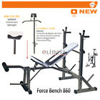 Best Panche - GetFit FORCE BENCH AD 860 Panca Pesi 90° Review