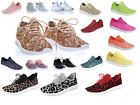 Внешний вид - New Women's Sequin Glitter Lace Up Fashion Shoes Comfort Athletic Sneakers