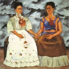 5 Sizes HD Canvas Painted Oil Painting home decor The Two Fridas by Kahlo Frida