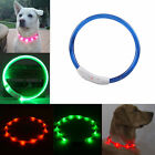 New Rechargeable USB Waterproof LED Flashing Light Band Safety Pet Dog Collar