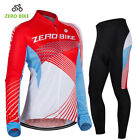 Women's Cycling Jersey Sets Long Sleeve Autumn Bike Wear Bicycle Clothes Set