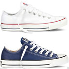 Kyпить Converse Chuck Taylor All Star Lo Tops Unisex Canvas Trainers Navy White  на еВаy.соm