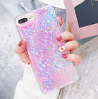 Bling Glitter Liquid Gel Soft Phone Case Cover For Apple iPhone 5 6 6s 7 8 Plus