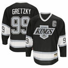 Mens Los Angeles Kings WAYNE GRETZKY CCM Black Heroes of Hockey Jersey 22499