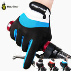 Wolfbike Bicycle Cycling Riding Gloves Gel Pad Finger Gloves For Men Women USA