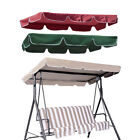 Patio Outdoor Garden Swing Canopy Replacement Porch Top Cover Seat 75