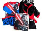 boys star wars darthe vader x store pyjamas and dressing gown sets £8.99 GBP