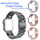 Stainless Steel Strap Watch Band Clasp For Apple Watch Series 3 iWatch 38/42mm