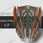 Carbon Fiber Gas Fuel Oil Tank Cover Pad Sticker Decal Protector For Triumph $39.95 USD on eBay