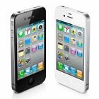 IPHONE 4,4S-8gb-16gb-32gb BLACK-WHITE(AT&T-UNLOCKED)MINT CONDITION-WITH WARRANTY